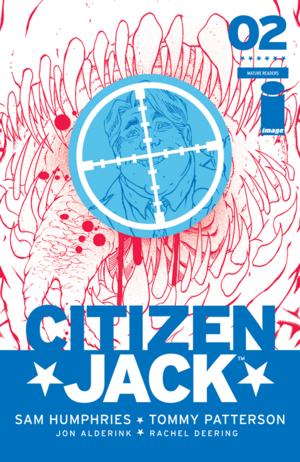 Cover for Citizen Jack #2 (2015)