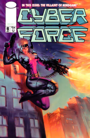 Cover for Cyberforce #6 (1994)