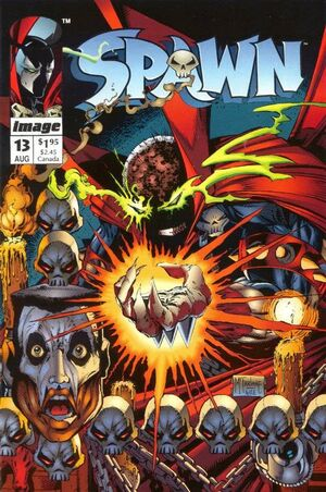 Cover for Spawn #13 (1993)