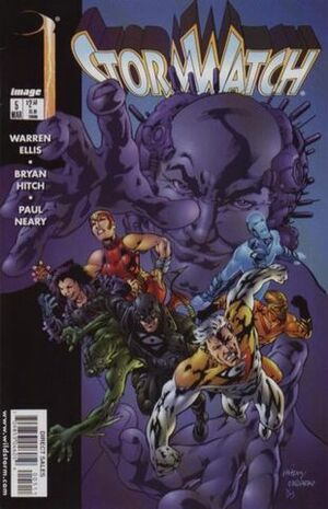 Cover for StormWatch #5 (1998)