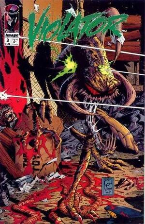 Cover for Violator #3 (1994)