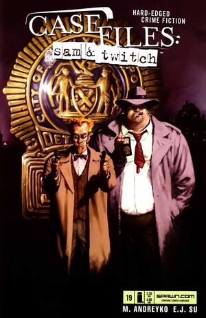 Cover for Case Files: Sam and Twitch #19 (2005)