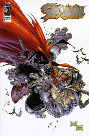 Cover for Spawn #57 (1997)