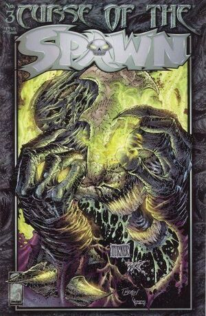 Cover for Curse of the Spawn #3 (1996)