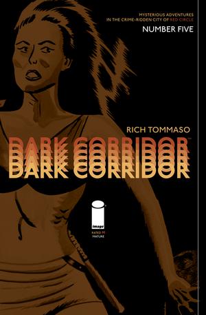 Cover for Dark Corridor #5 (2015)