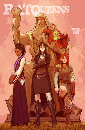 Cover for Rat Queens #11 (2015)