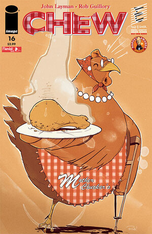 Cover for Chew #16 (2010)
