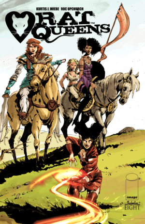 Cover for Rat Queens #8 (2014)
