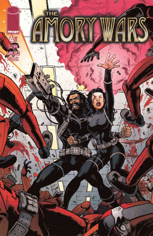 Cover for The Amory Wars #4 (2007)