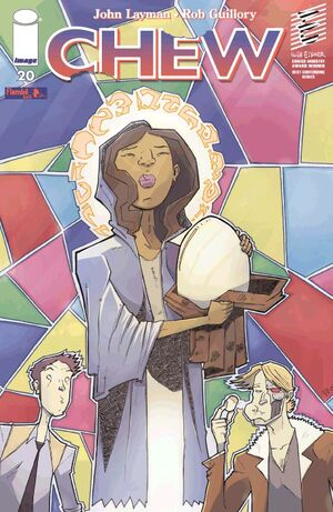 Cover for Chew #20 (2011)
