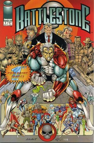Cover for Battlestone #1 (1994)