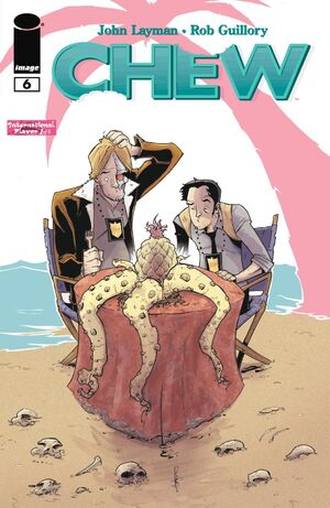 Cover for Chew #6 (2009)