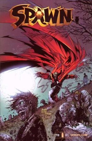 Cover for Spawn #118 (2002)