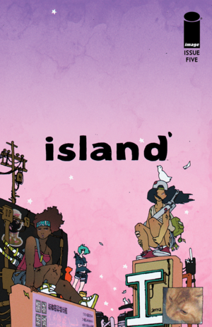Cover for Island Magazine #5 (2015)