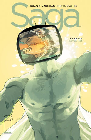 Cover for Saga #17 (2013)
