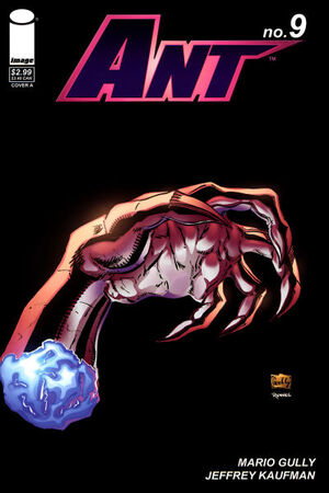 Cover for Ant #9 (2006)