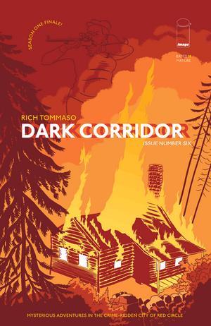Cover for Dark Corridor #6 (2016)