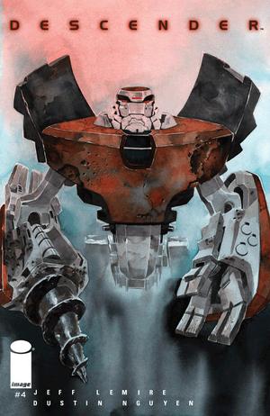 Cover for Descender #4 (2015)