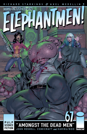 Cover for Elephantmen #67 (2015)