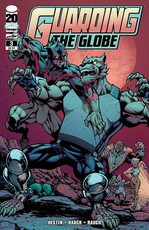 Cover for Guarding the Globe #3 (2012)