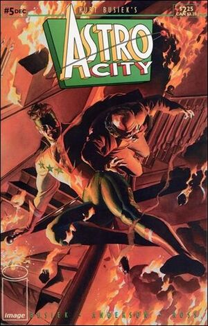 Cover for Astro City #5 (1995)