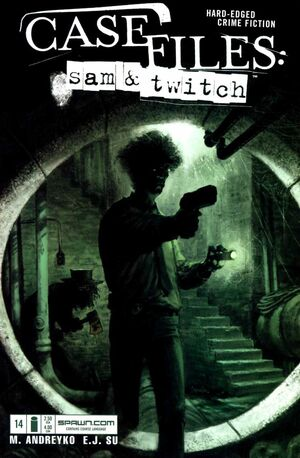 Cover for Case Files: Sam and Twitch #14 (2005)