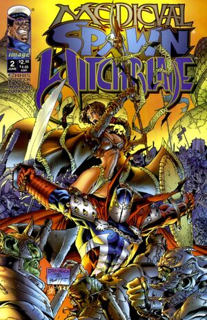 Cover for Medieval Spawn/Witchblade #2 (1996)