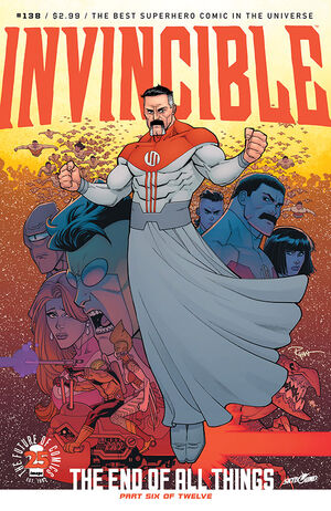 Cover for Invincible #138 (2017)