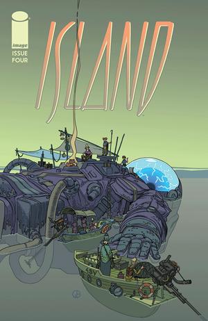 Cover for Island Magazine #4 (2015)