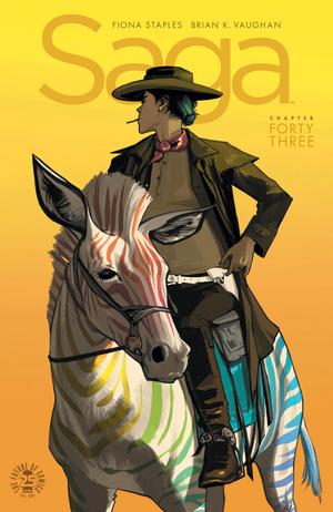 Cover for Saga #43 (2017)