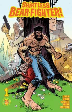 Cover for Shirtless Bear-Fighter #1 (2017)
