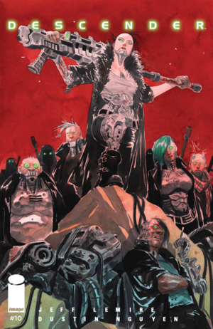 Cover for Descender #10 (2016)