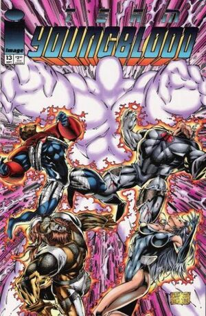 Cover for Team Youngblood #13 (1994)