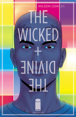 Cover for The Wicked + The Divine #8 (2015)