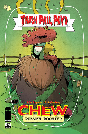 Cover for Chew #47 (2015)