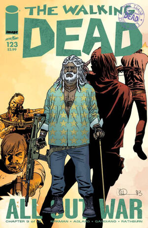Cover for The Walking Dead #123 (2014)