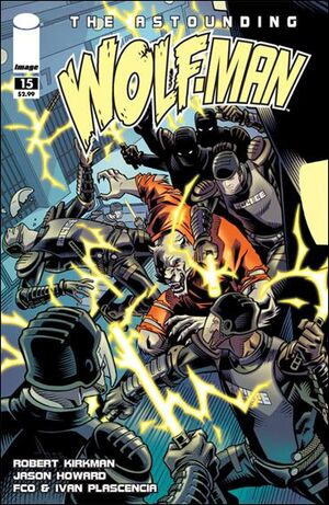 Cover for Astounding Wolf-Man #15 (2009)