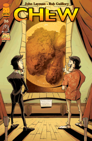 Cover for Chew #26 (2012)