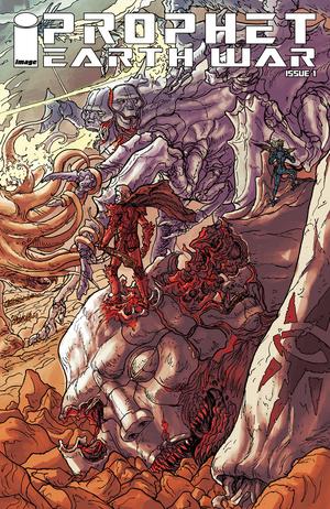 Cover for Prophet: Earth War #1 (2016)