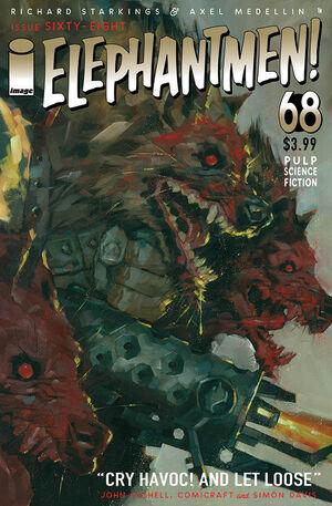 Cover for Elephantmen #68 (2016)