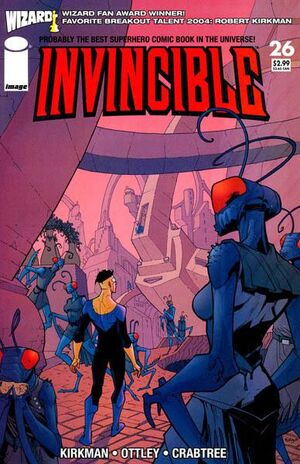 Cover for Invincible #26 (2005)