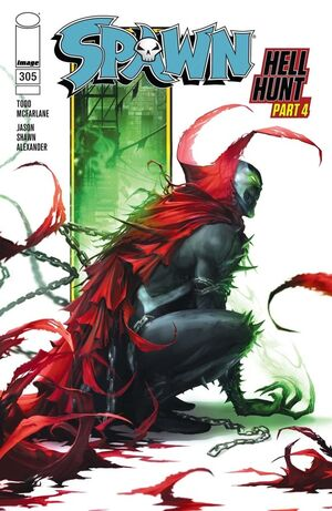 Cover for Spawn #305 (2020)