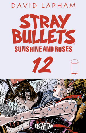 Cover for Stray Bullets: Sunshine and Roses #12 (2016)