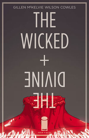 Cover for The Wicked + The Divine #11 (2015)