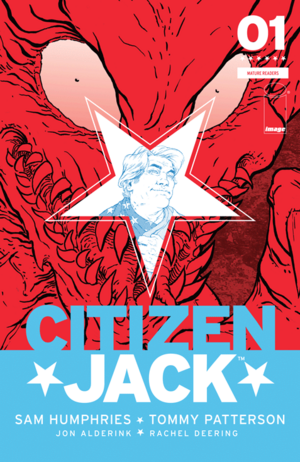 Cover for Citizen Jack #1 (2015)