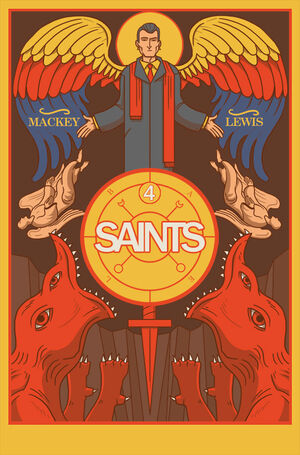 Cover for Saints #4 (2016)