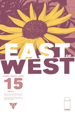 Cover for East of West #15 (2014)