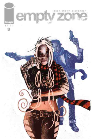 Cover for Empty Zone #8 (2016)