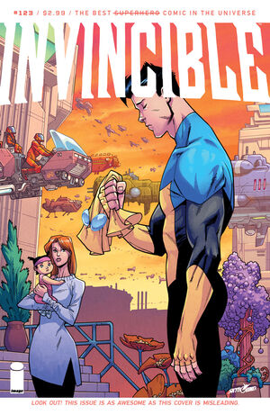 Cover for Invincible #123 (2015)