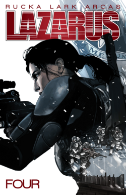 Cover for the Lazarus TPB Vol 4 Poison Trade Paperback